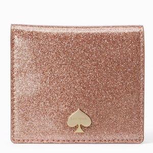🆕 kate spade♠️GlitterBug Serenade Wallet +giftBox
